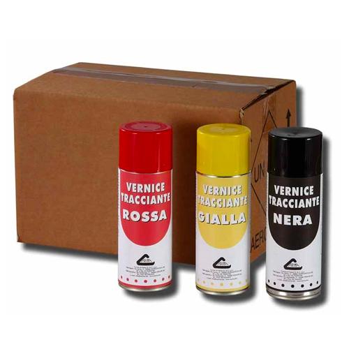 spray solvente per tracciatura